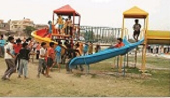 children park is present at morachi chincholi for playing games for kids